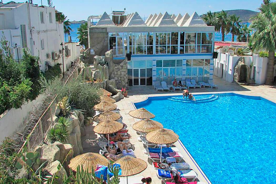 Gumbet Sun Club Bodrum opis Bodrum, Turcja