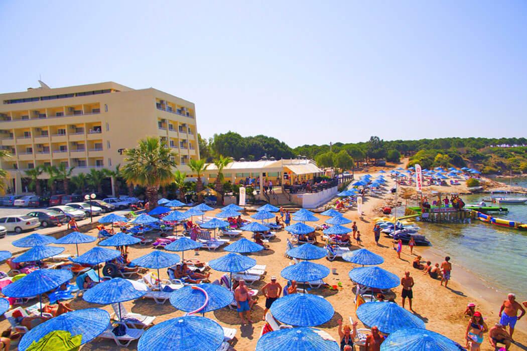 Tuntas Beach Didim Turcja Didim