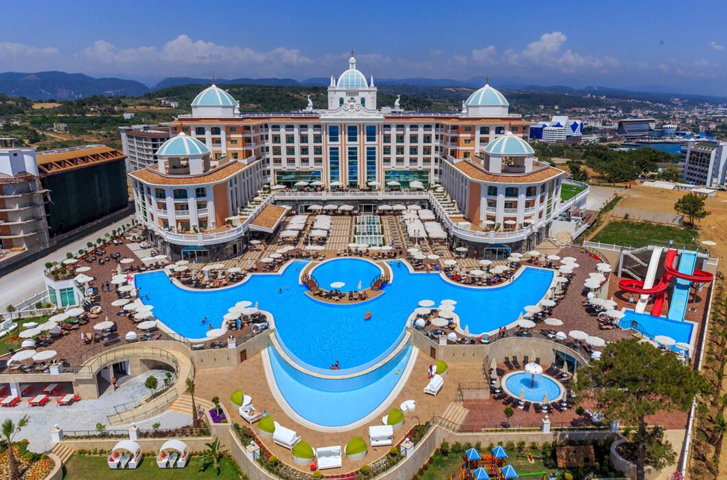 Rubi Platinum Spa Resort Suites Alanya Antalya Turkey Book