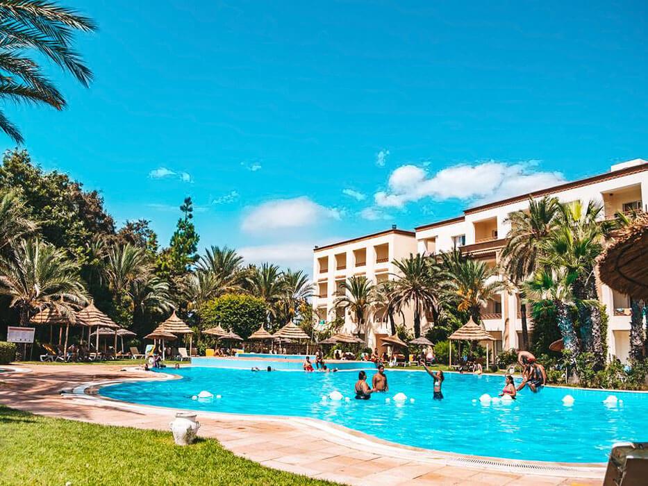 Marina Palace Tunezja Hammamet