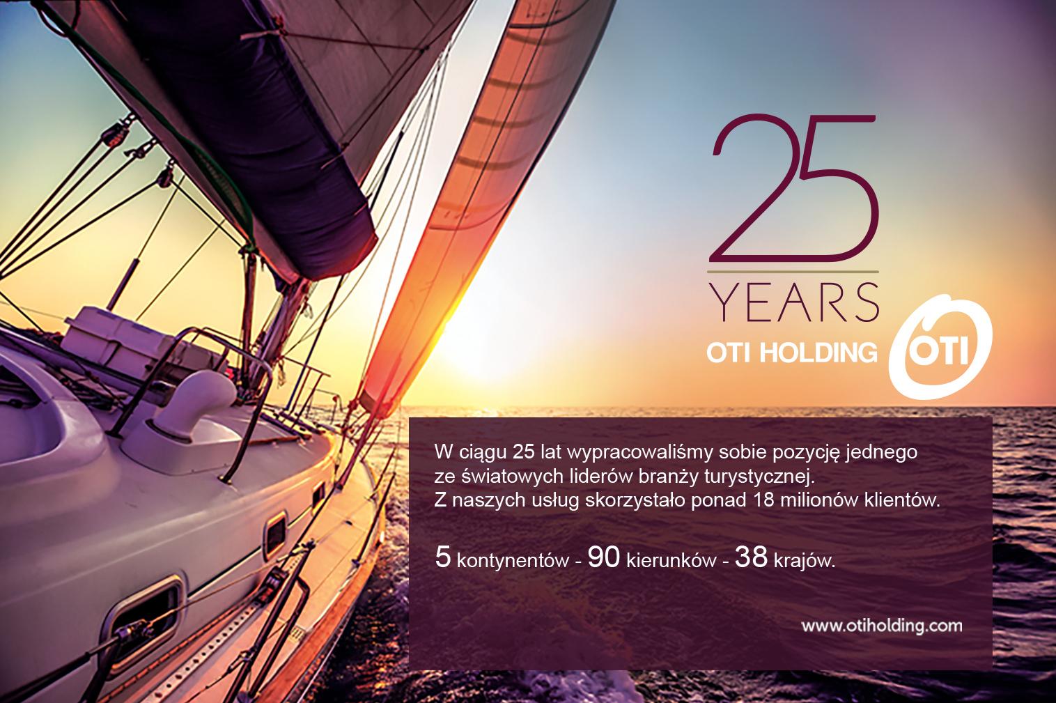 25 lat OTI HOLDING