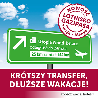 Turcja Alanya nowe lotnisko Gazipasa