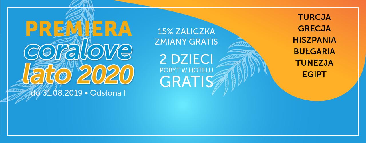 Premiera Coralove Lato 2020