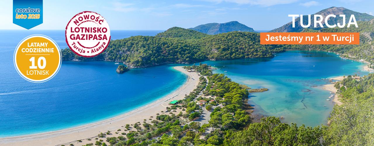 Turcja z Coral Travel - jesteśmy nr 1