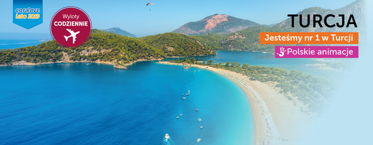 Wakacje Turcja Coral Travel