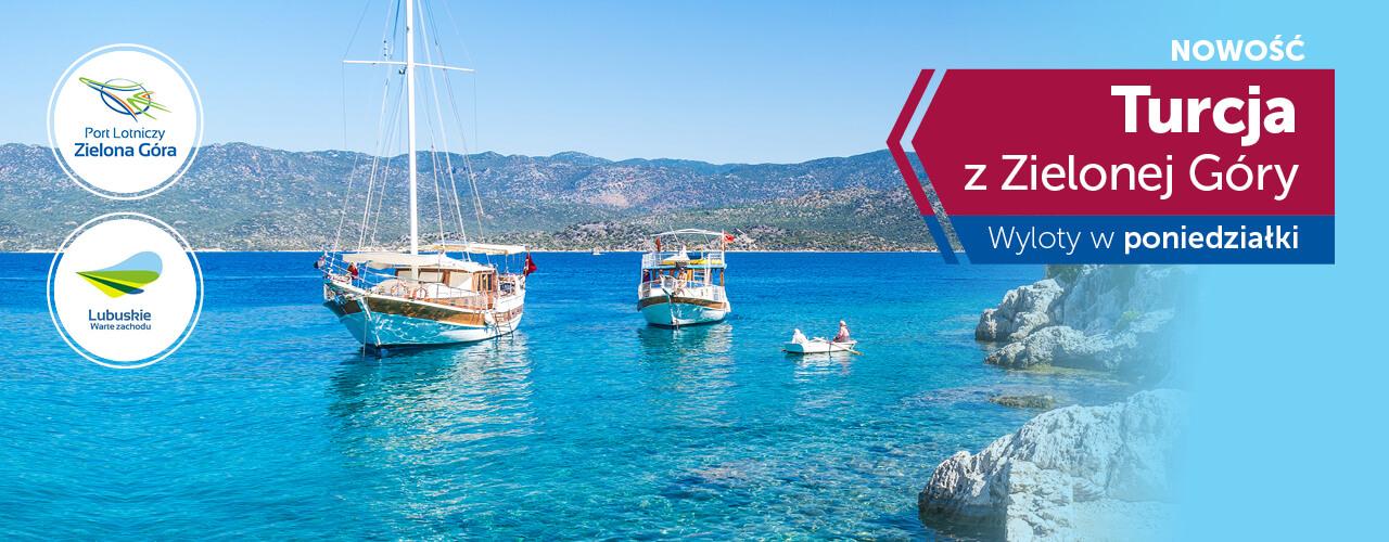 Lataj do Turcji z Zielonej Góry Coral Travel