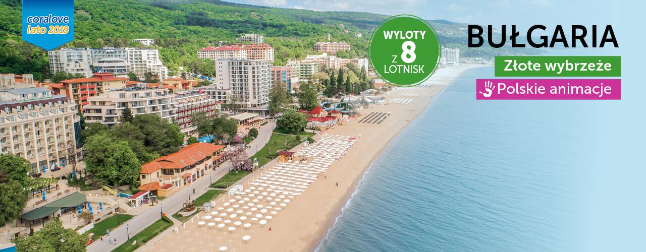 Wakacje Bułgaria Coral Travel