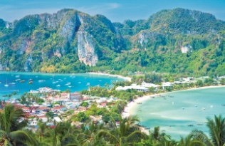 Tajlandia Widok na Ocean