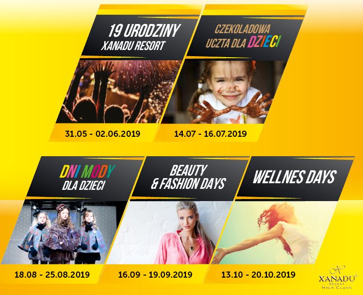 kalendarz wydarzeń - Coral Travel Poland