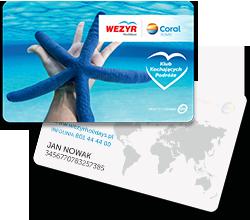 karta Klubu Kochających Podróże