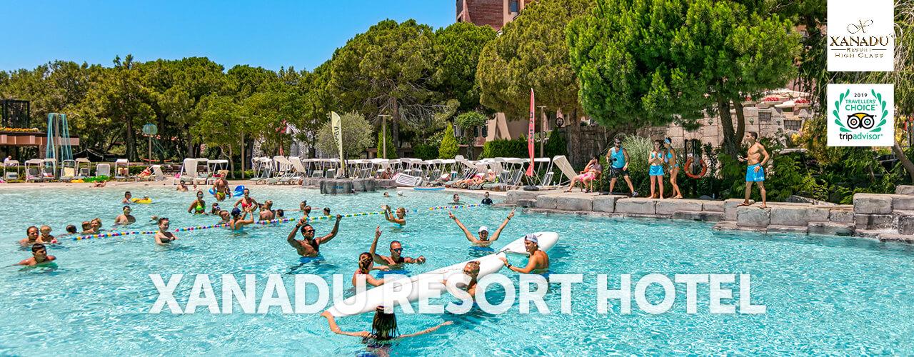 Xanadu resort - Aktywność
