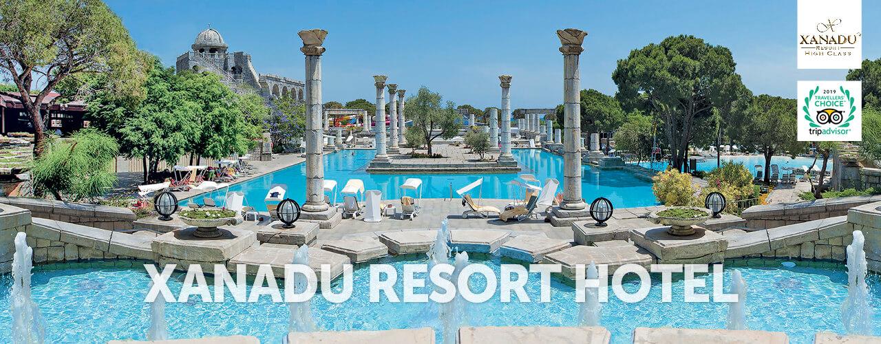 Xanadu resort - Miejsca
